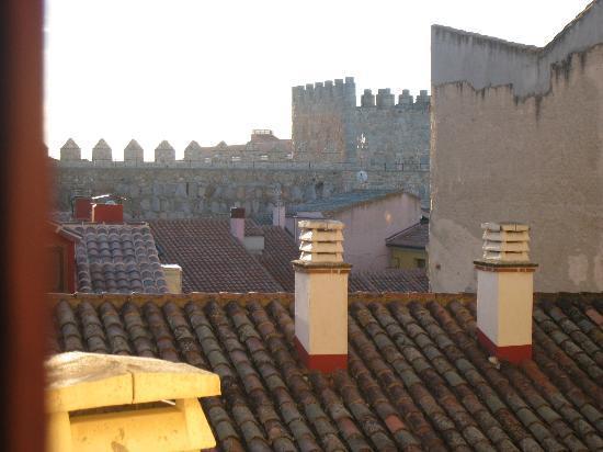Hotel Las Moradas: uitzicht kamer