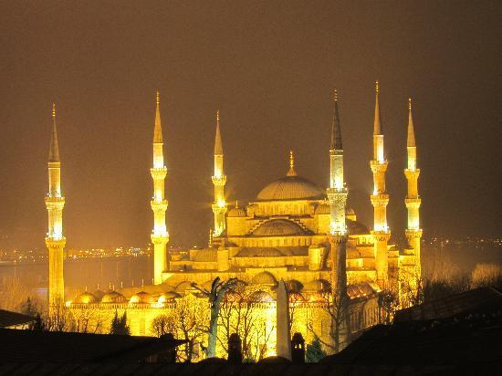 Sultanahmet Park Hotel: mosquée bleu