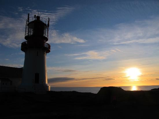 Lindesnes Fyr: Beutiful sunset in February