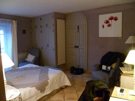 Chateau Roumanieres - Chambres d'hotes et vins : Chambre Lavande
