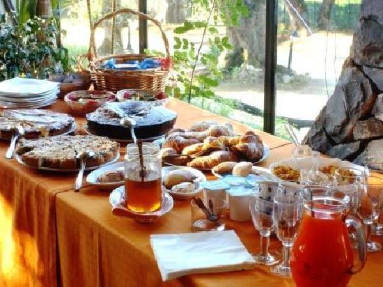 Park Hotel Cilento: La prima colazione
