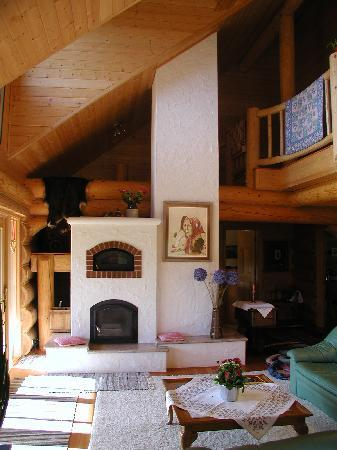 Il Nido Country Inn : The Fire Place