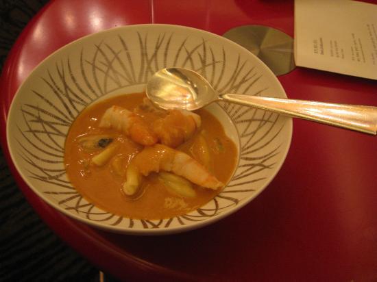 Pierre Gagnaire Seoul: shrimp4