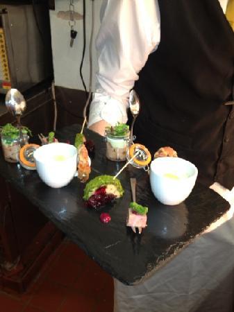 Gallery Restaurant: canapés