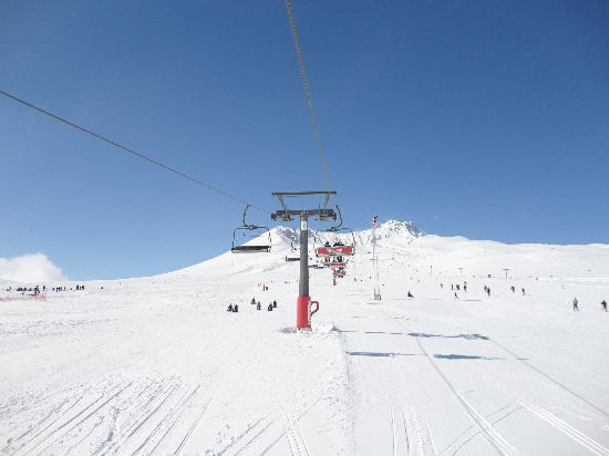 Mount Erciyes: cable lift