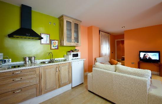 Aparthotel Capitolina: Cocina