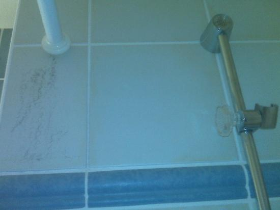 Campanile Hotel - Old Town: what you see in the picture is DIRT in the shower