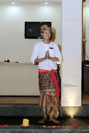 CK Villas Bali: Dewa (Dey-wa)