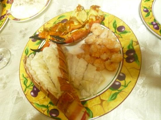 La Casona Cueto: cena