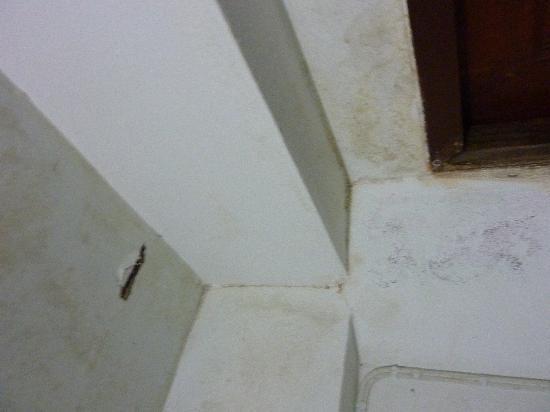 Chaloklum Bay Resort: Damp and peeling walls
