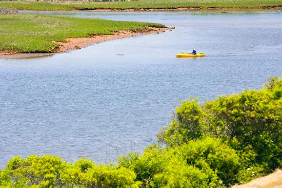 Kayaking Block Island