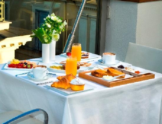 Suite Valadier: Breakfast room