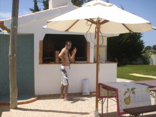 Apartamentos Turisticos Solar Veiguinha: Foi só churrasco