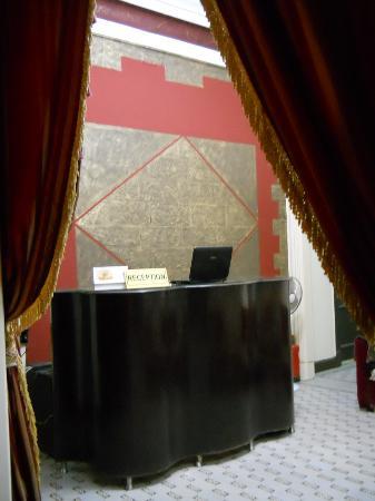 Cairo Paradise Hotel: reception