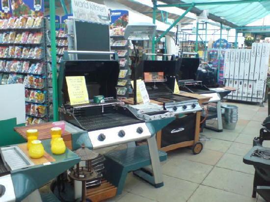Poplar Tree Garden Centre & Coffee Shop: BBQ Range