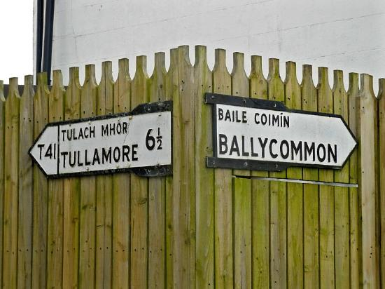 Ballycommon House: Ballycommon is a very small community outside of Tullamore