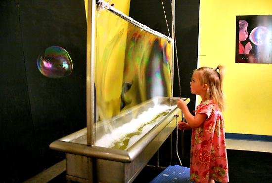 Discovery Center of Idaho : The Bubble wall is a favorite