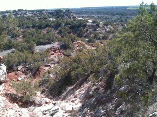 Copper Breaks State Park: out on the trails