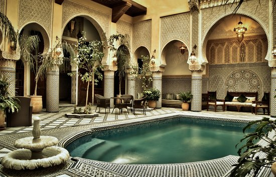Riad salam fes morocco hotel reviews photos price for Riad piscine privee marrakech