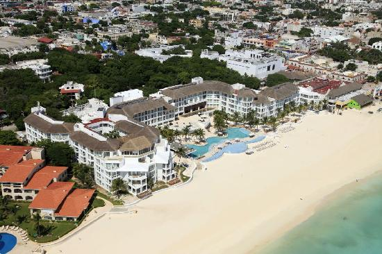 Playacar Palace : Playacar and Playa del Carmen