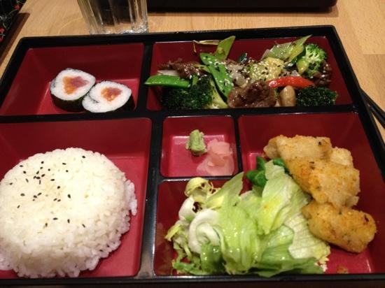 bento box picture of musashi japanese restaurant dublin. Black Bedroom Furniture Sets. Home Design Ideas
