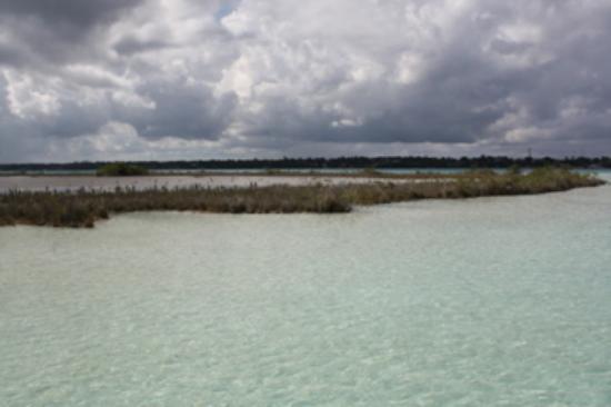 Centro Holistico Akalki: La laguna