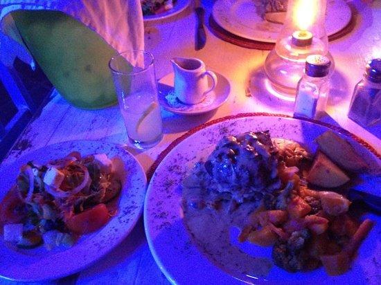 Paljas Restaurant: ostrich deluxe