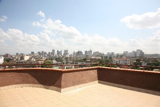 Nairobi Transit Hotel: Rooftop Terrace