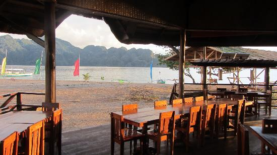 Balinsasayaw Resort: view from dining hall