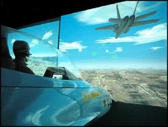 أنهايم, كاليفورنيا: flight desk air combat centre