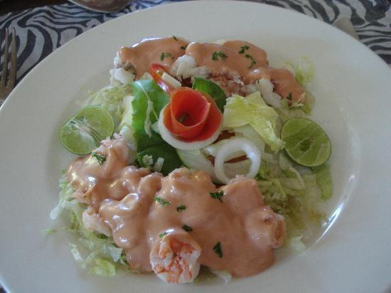 Savannah : Prawn & lobster cocktail