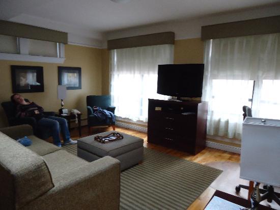 living room of penthouse a picture of best western plus rh tripadvisor com