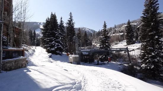Elkhorn Lodge: ski in, ski out.
