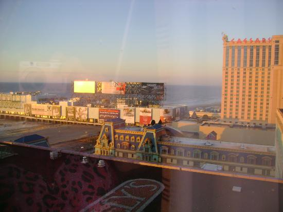 Bally's Atlantic City : View from our room.