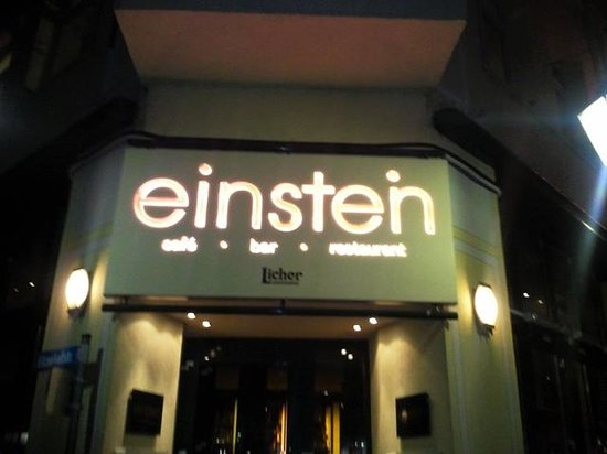 eingang bild von cafe einstein koblenz tripadvisor. Black Bedroom Furniture Sets. Home Design Ideas