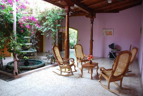 Hotel Kekoldi Granada: patio