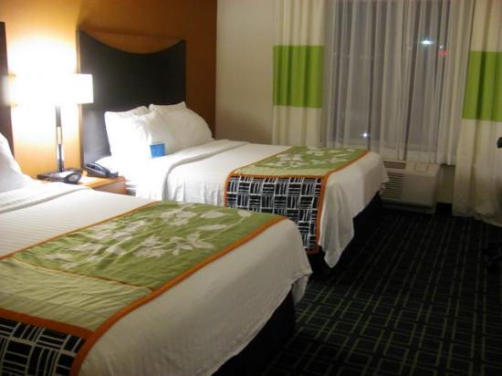 Fairfield Inn & Suites Morgantown: comfy beds