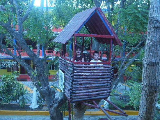 Posada Real: Fun Tree House for Kids in the Courtyard