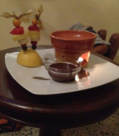 Vicoforte, Italia: la dolce fonduta