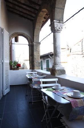 Residenza Farnese: terrazzino Colazione