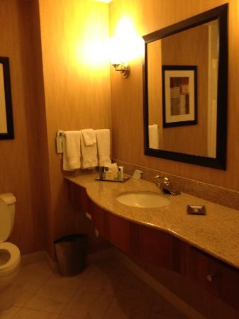 Hilton Shreveport: Executive suite