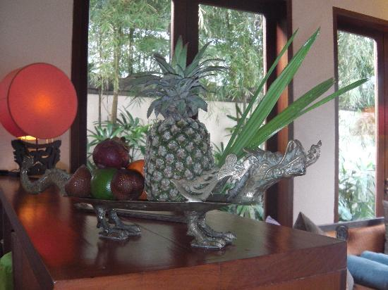 The Pavilions Bali: Fresh fruits are brought every day