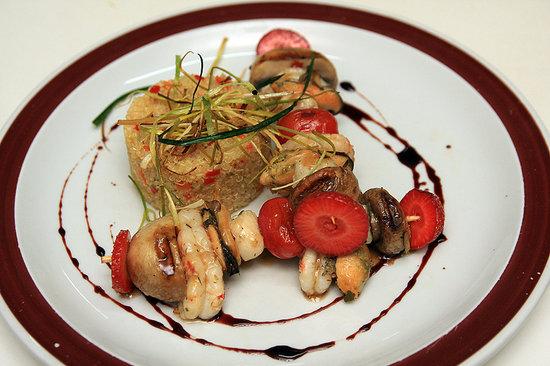 KANDAHAR Restaurante: Brochette de Mar