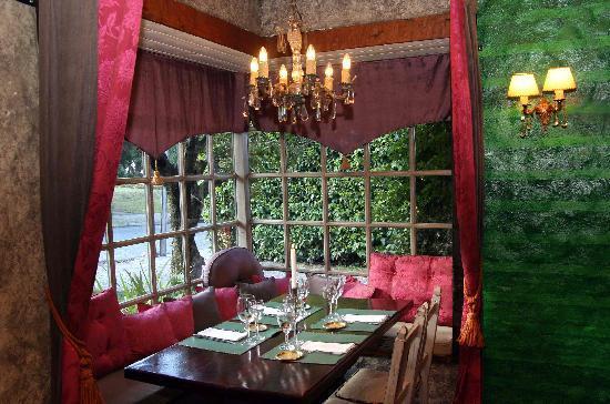 KANDAHAR Restaurante: Salón