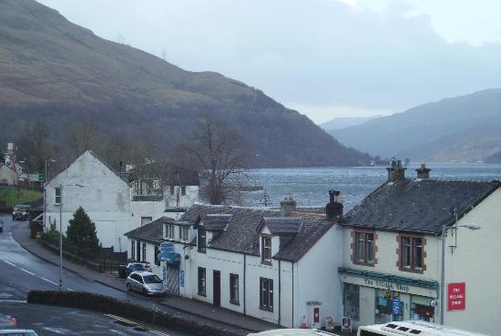 Loch Long Hotel : View from Room 203
