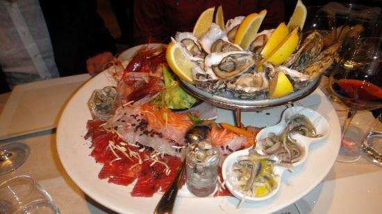 Cestello: Raw Seafood Platter
