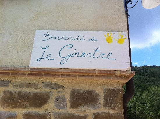 Le Ginestre Bed and Breakfast Assisi: L'accoglienza