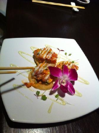 Koi Lounge Bangkok : tartare di tonno