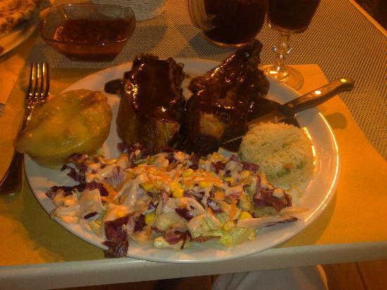 Restaurante Y Cantina Mexicana El Mezcalito : BBQ RIBS