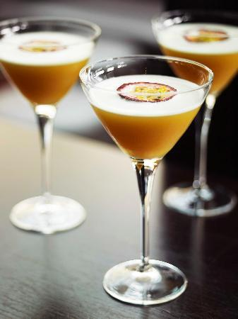 Cafe Sydney passion martini